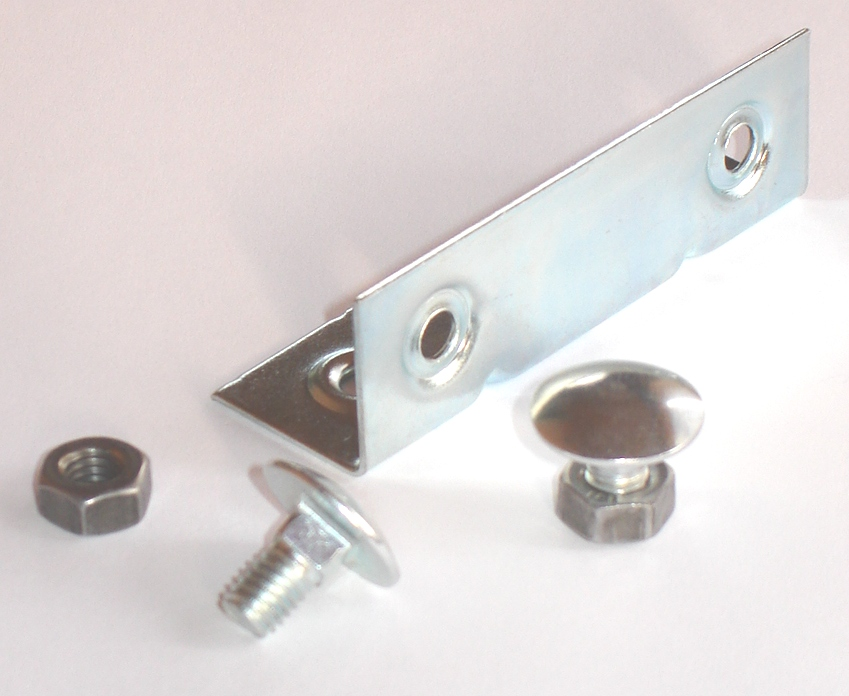 Junction and alignment plate for polyethylene and aluminium