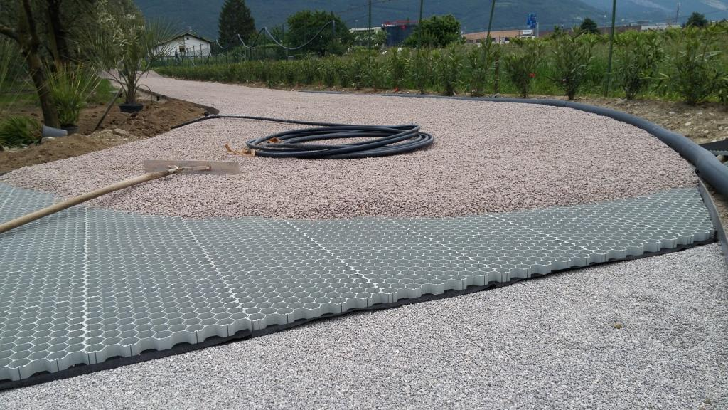 Gravelvip Standard – Car trafficable pavings