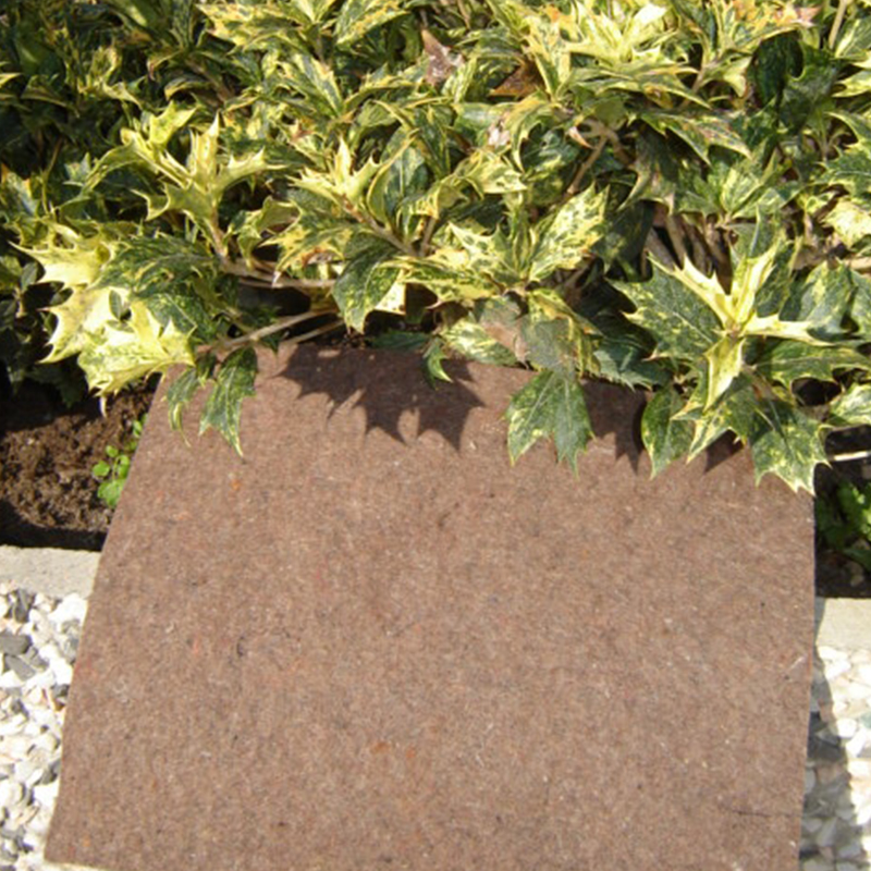 Telovip 300 TM – Synthetic mulching felt of brown color